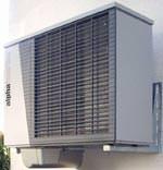 LWD Luft/Wasser-Wärmepumpen mit Kühlfunktion in den Baugrößen mit 5 und 7 kW unter der Bezeichnung LWD 50A/RX bzw. LWD 70A/RX