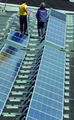 BIS Montagesystem für Photovoltaik Flachdächer