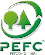 PEFC Logo: Programme for the Endorsement of Forest Certification Schemes