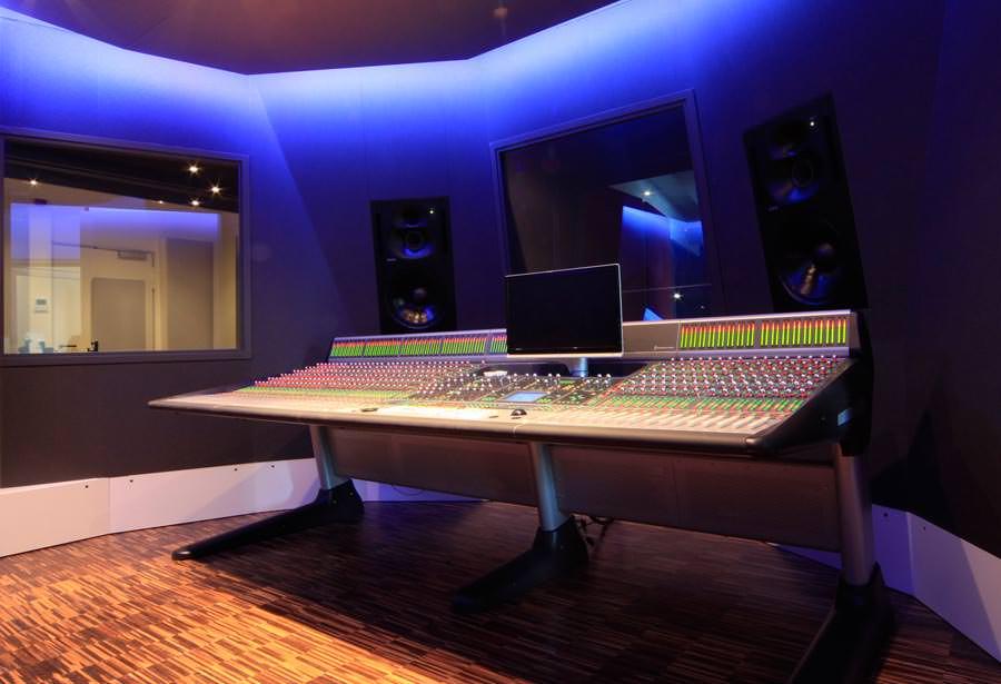 Massiver Schallschutz für ein Tonstudio - mit leichtem ...