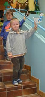 Treppen in Kindertagesstätten