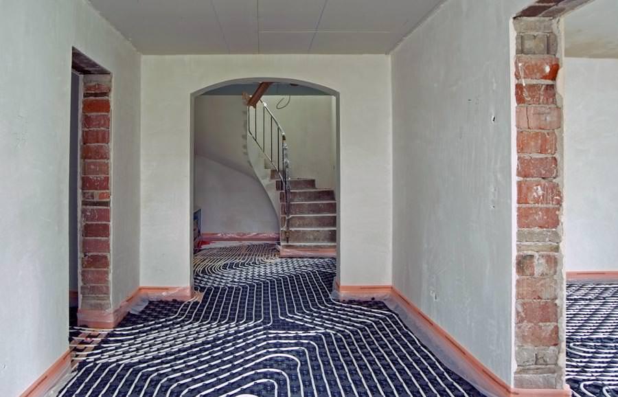 vom energiefresser zum vorzeigeobjekt mit fl chenheizung w rmepumpe und d mmung. Black Bedroom Furniture Sets. Home Design Ideas