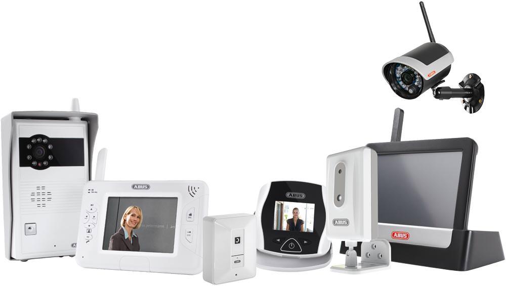 neue elektronische diy video sicherheitstechnik von abus hd t rspion zeitrafferkamera video. Black Bedroom Furniture Sets. Home Design Ideas