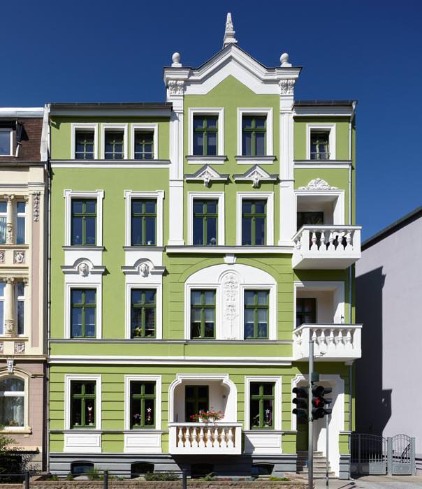 Fassadenfarbe grüntöne  Deutscher Fassadenpreis 2012: Historische Gebäude und Stilfassaden