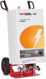 """mobile Elektrozentrale """"Hotboy"""" von Hotmobil in Leistungsgrößen von 9 bis 36 Kilowatt"""
