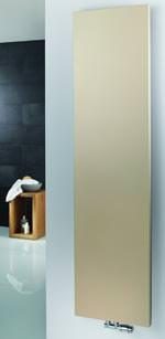 """goldener Sandstein Designheizkörper """"Atelier Line"""" von HSK"""