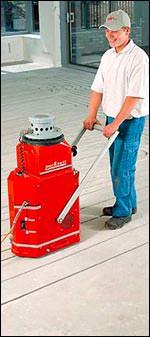 Rotex cut Fußbodenheizung