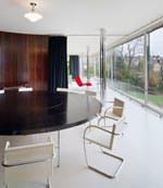 """Wohnraum """"Villa Tugendhat"""" von Mies van der Rohe"""