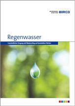 """Birco Broschüre """"Regenwasser"""" über Regenwassermanagement"""