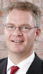 Michael Hölker von der Wohnungsbau-Initiative