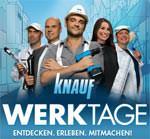 Knauf Werktage 2013 mit der Knauf Werkstadt