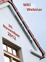 """WKI-Webinar am 20.11.: """"WDVS im Holzbau- von der Prüfung bis zur Ausführung"""""""