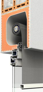 Aufsatzsystem Puro.XR für Zip-Screens