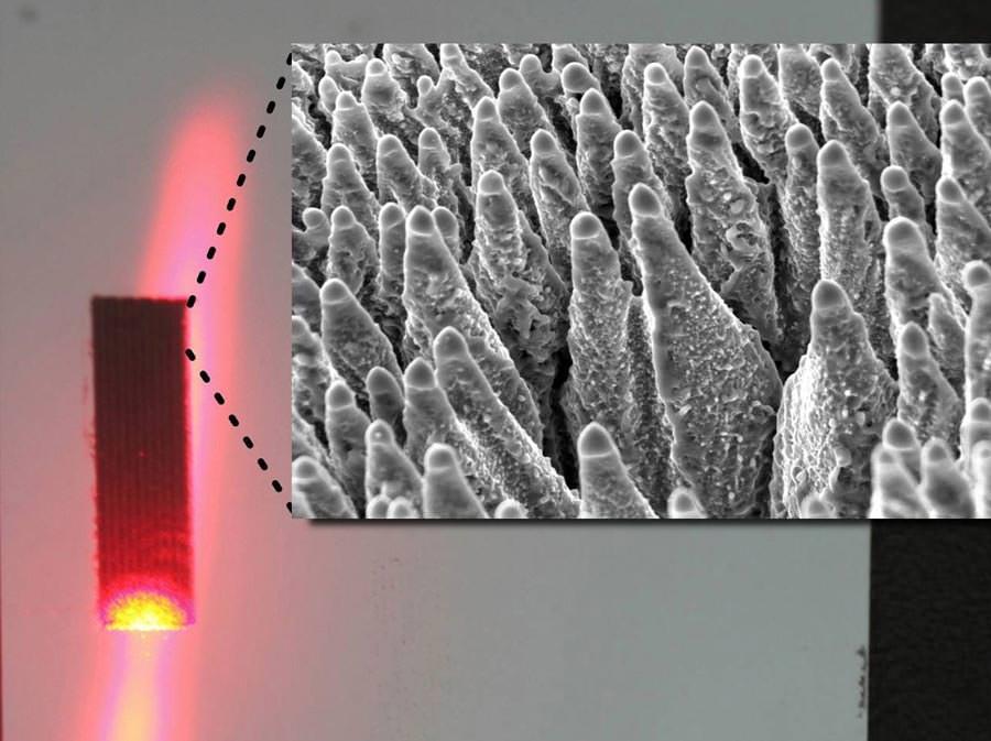 solarzellen aus schwarzem silizium nutzen auch infrarotstrahlung. Black Bedroom Furniture Sets. Home Design Ideas