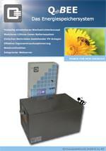 Q_BEE: Speichersystem von Q3 Energieelektronik zur Eigenverbrauchsoptimierung