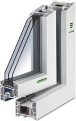 Kunststoff-Fenster KF 704 S von Kneer-Südfenster