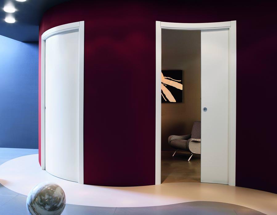 schiebet r in trockenbauwand. Black Bedroom Furniture Sets. Home Design Ideas