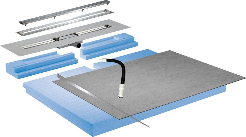 Mosaik Dusche Verlegen : Mosaik sicher verlegen auf Duschrinnensystem ...