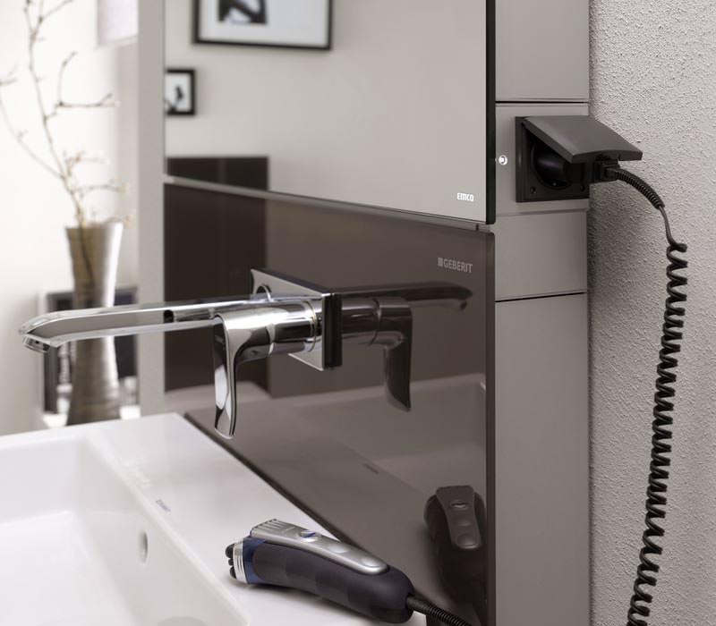 spiegelschrank seitlich zu ffnen bestseller shop f r m bel und einrichtungen. Black Bedroom Furniture Sets. Home Design Ideas