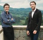 Michael Murphy und David Saladik des US-amerikanischen Architekturbüros Mass Design Group