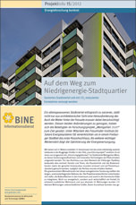 "BINE-Projektinfo ""Auf dem Weg zum Niedrigenergie-Stadtquartier"""
