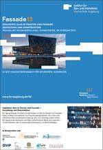 """""""Fassade 13"""": Geklebtes Glas in Fenster und Fassade Gestaltung und Konstruktion"""