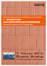 PDF-Programmheft: Poroton Mauerwerkskongress