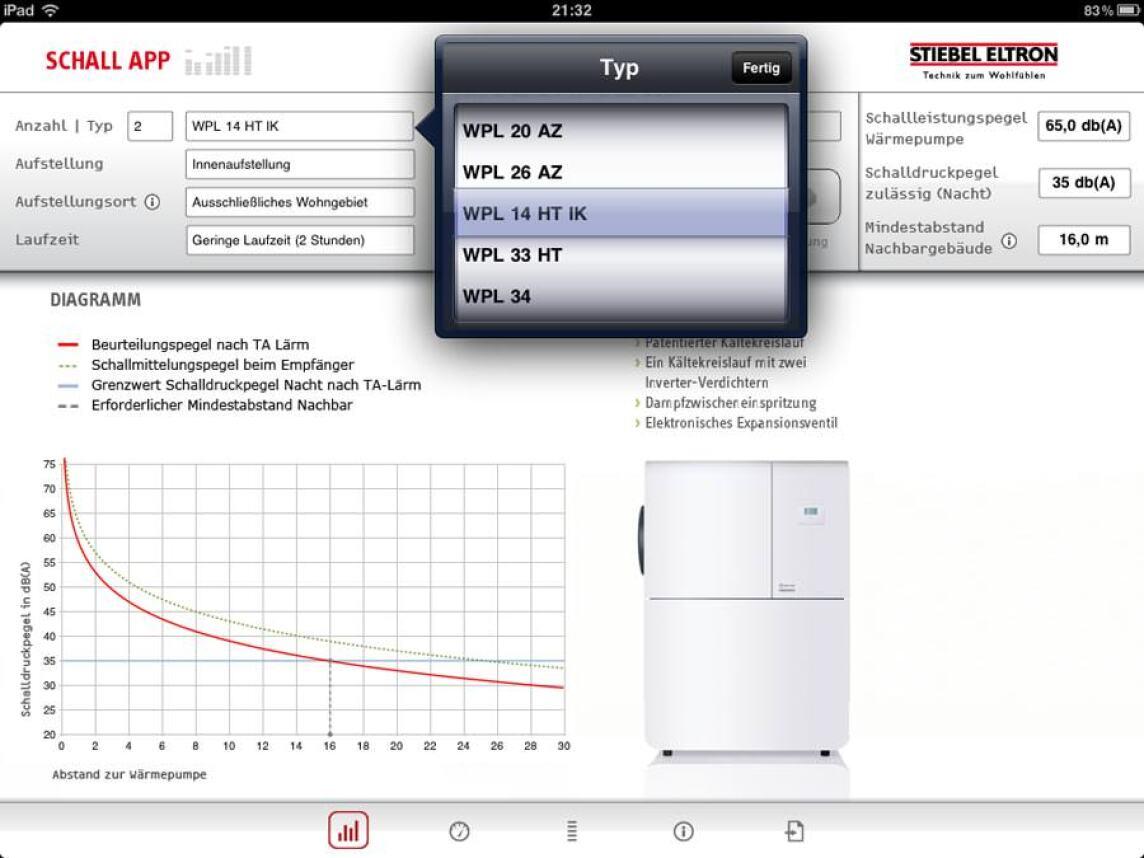 Screenshots von der iPad-Version