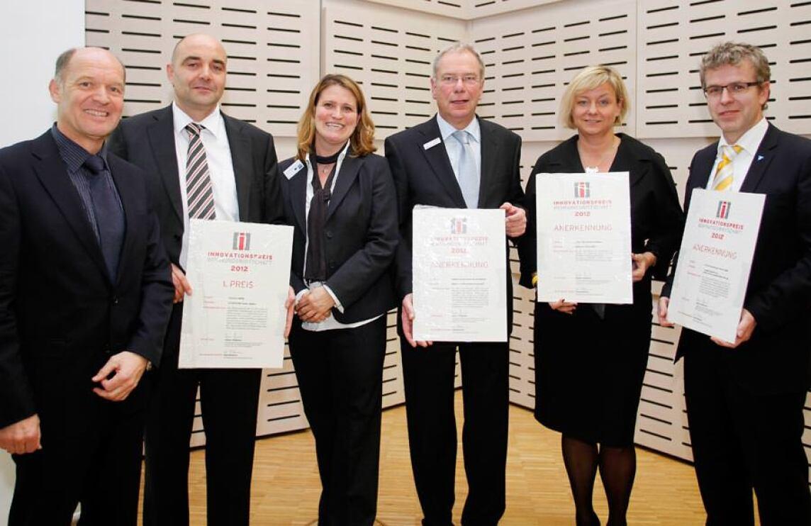 Preisträger des Innovationspreis Wohnungswirtschaft 2012