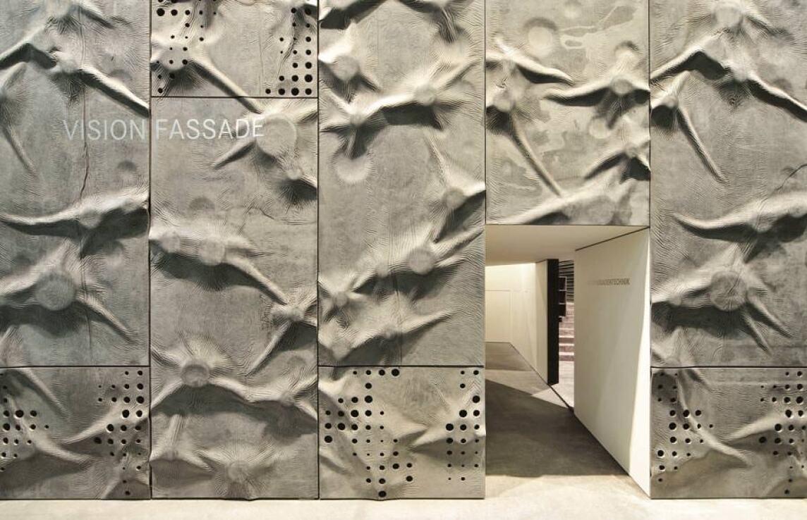 """Glasfaserbetonplatten """"sculptural fibreC"""""""