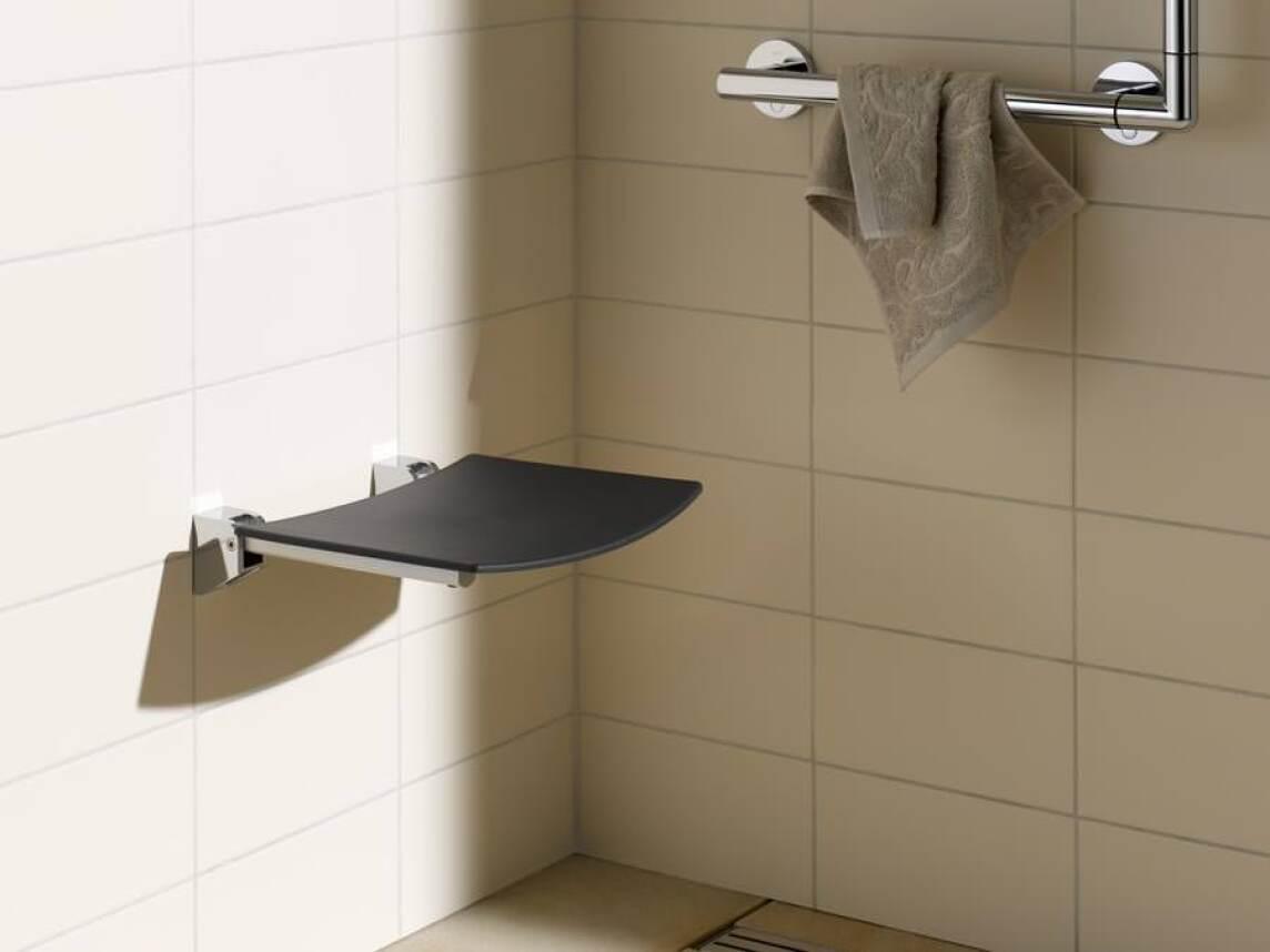 keuco m bliert die dusche stilvoll sowie din und behindertengerecht. Black Bedroom Furniture Sets. Home Design Ideas