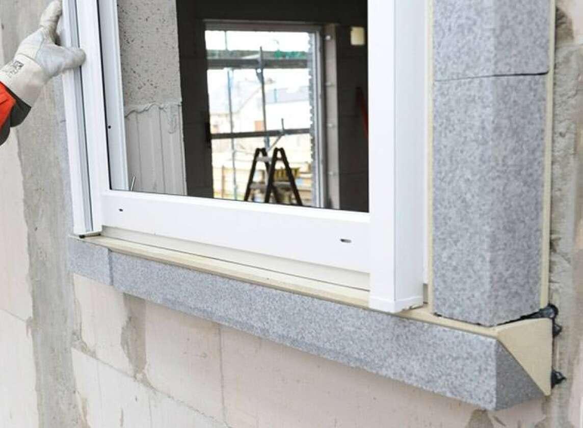 Bekannt Mit Tremco illbrucks Vorwandmontage-System Fenster an die Wand kleben RP51