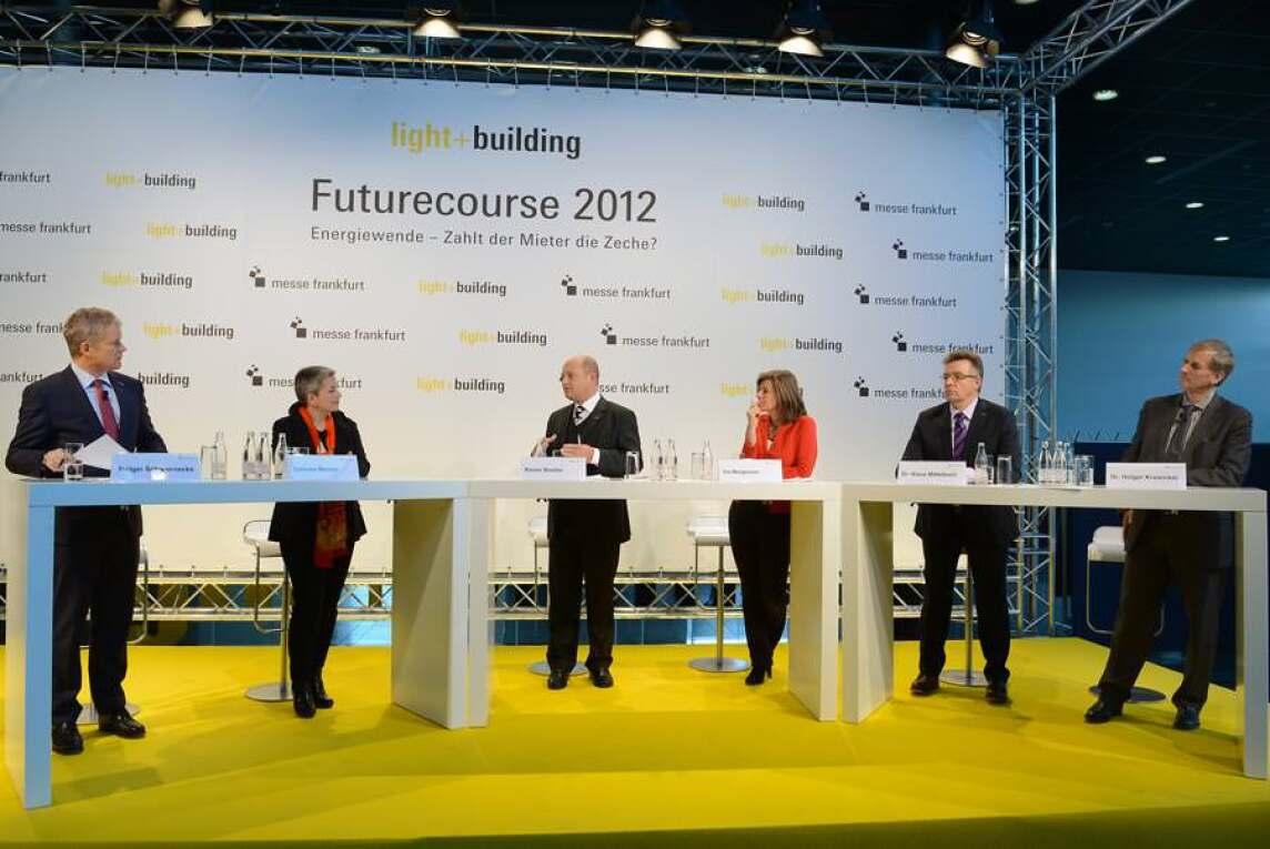 """Podiumsdiskussion """"Futurecourse 2012"""""""