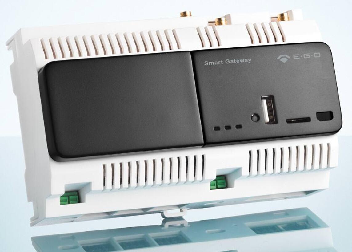 """Smart Gateway"" hat die E.G.O. Elektro-Gerätebau GmbH 8 TE"