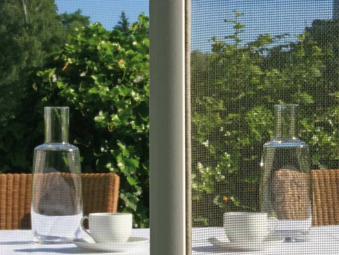 Insektenschutz und 'Pollenfilter' für Fenster: 4PLUS-Gewebe