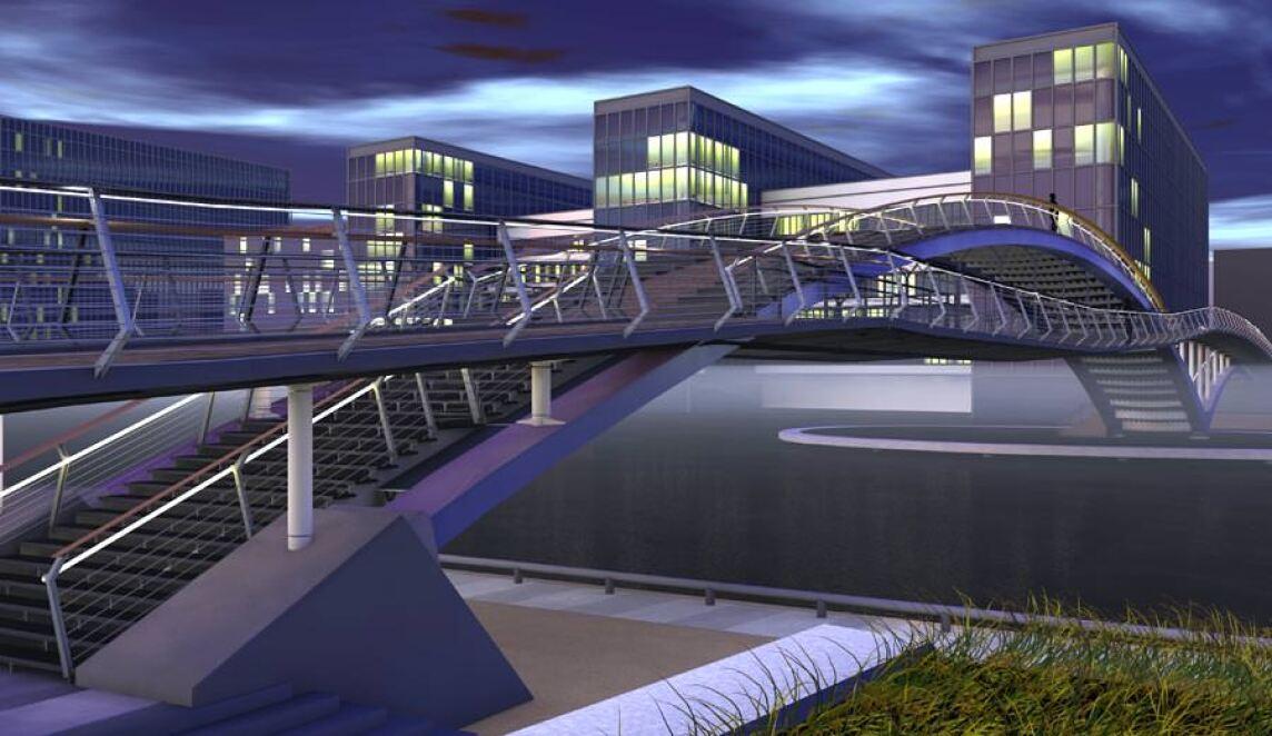 Brommybrücke in Berlin