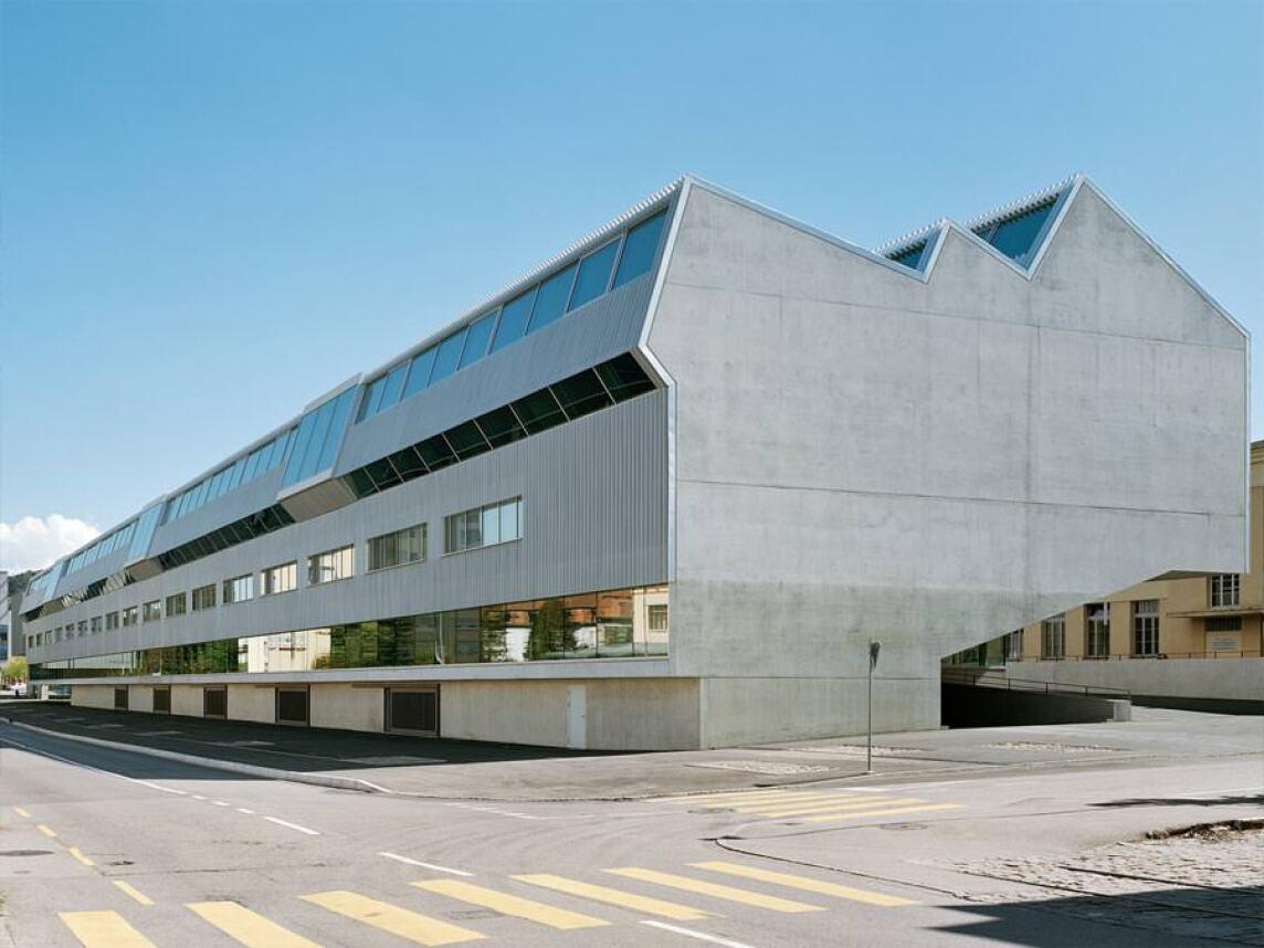Ecole des Métiers von Graber Pulver Architekten (Foto: Georg Aerni)