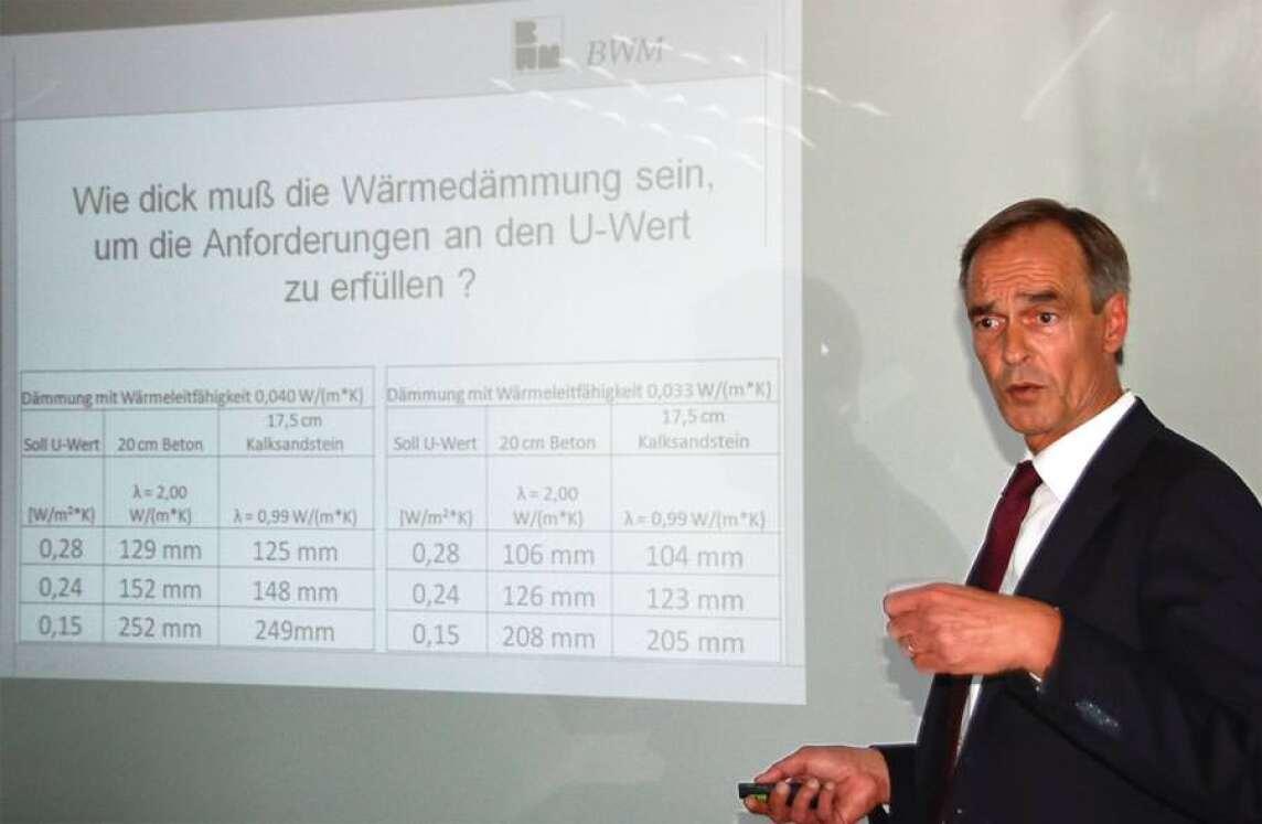 Technischer Geschäftsführer Peter Reinwarth