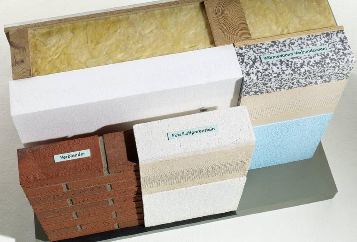 Wandaufbau holzrahmenbau mit klinker  Gussek Haus realisiert Effizienzhäuser mit zweischaligen Wandaufbauten