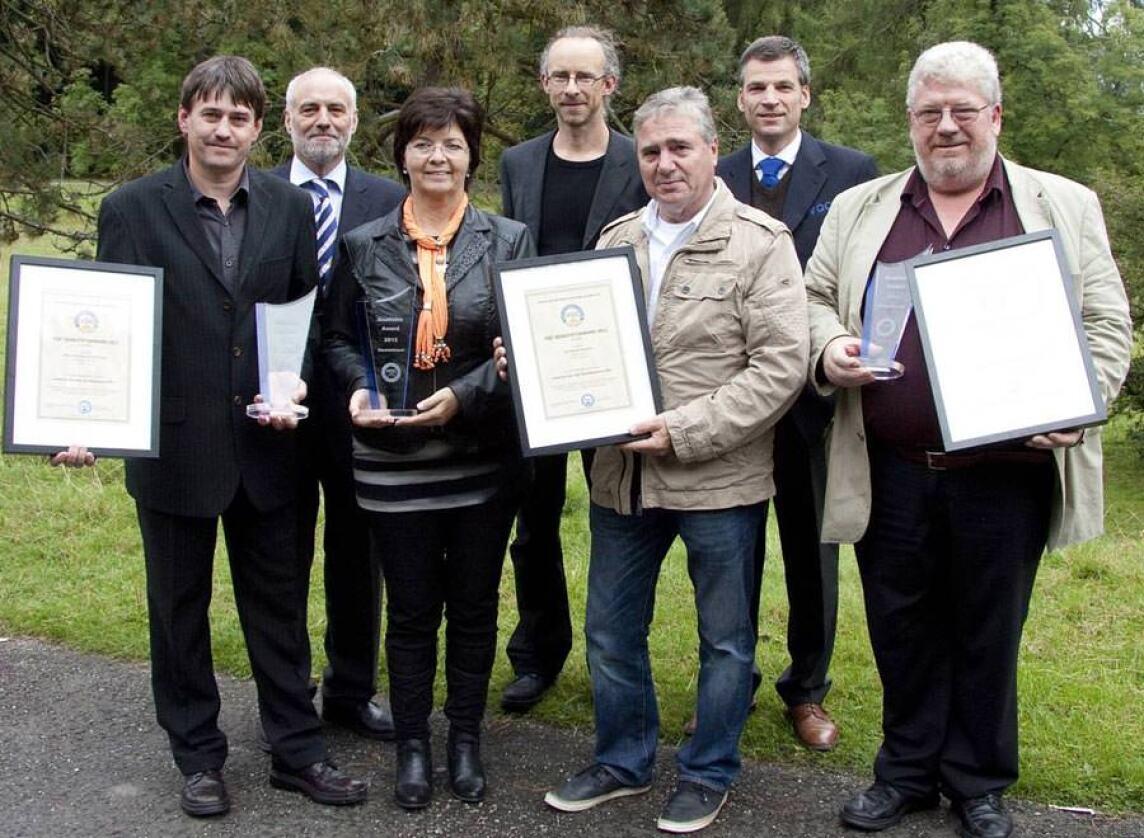 Gewinner des VQC Award 2012 vom  Verein zur Qualitäts-Controlle am Bau e.V.