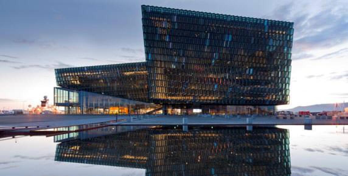 Harpa Konzerthaus - Reykjavík concert hall and conference centre von Henning Larsen Architects
