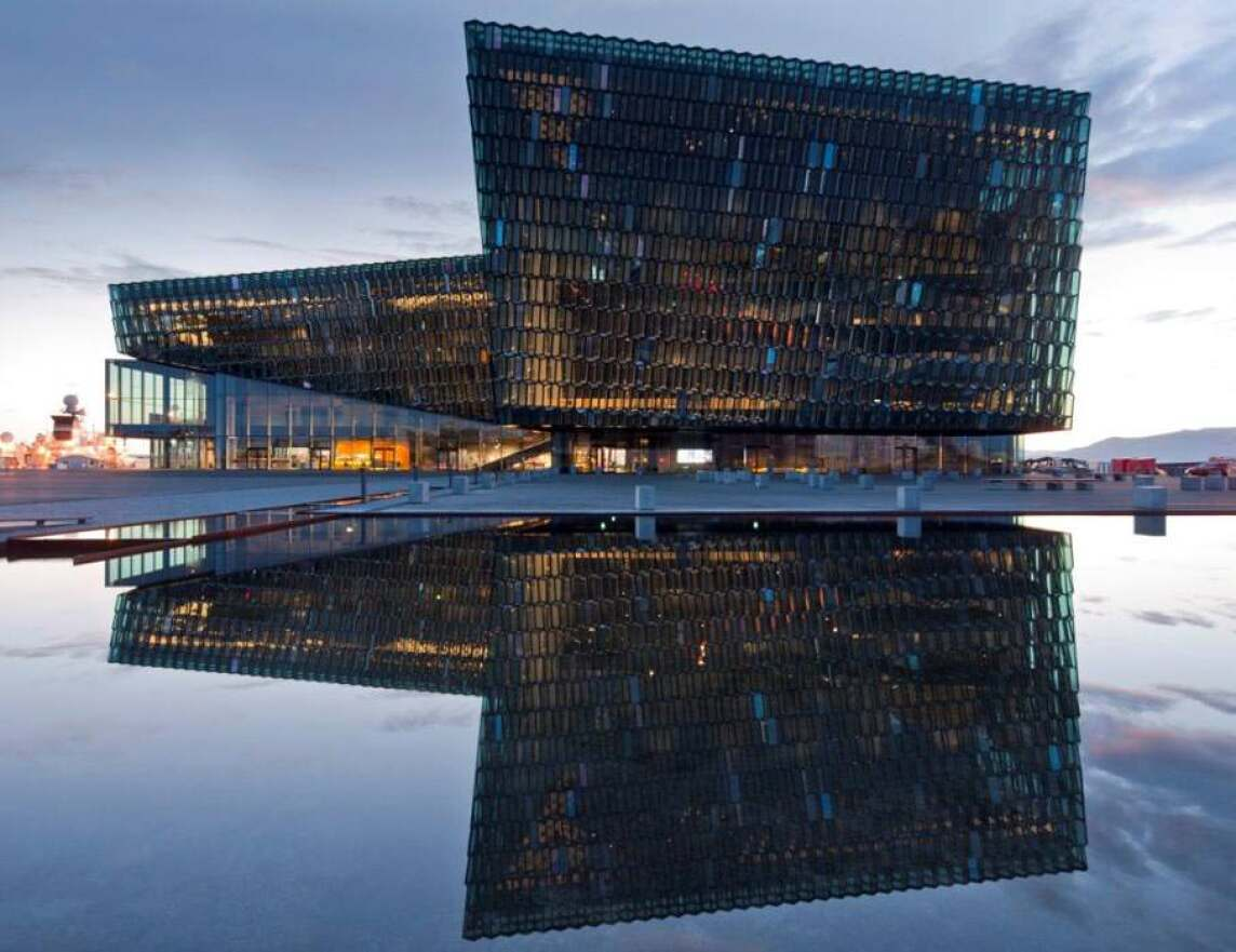 Harpa Konzerthaus - Reykjavík concert hall and conference centre von Henning Larsen Architects