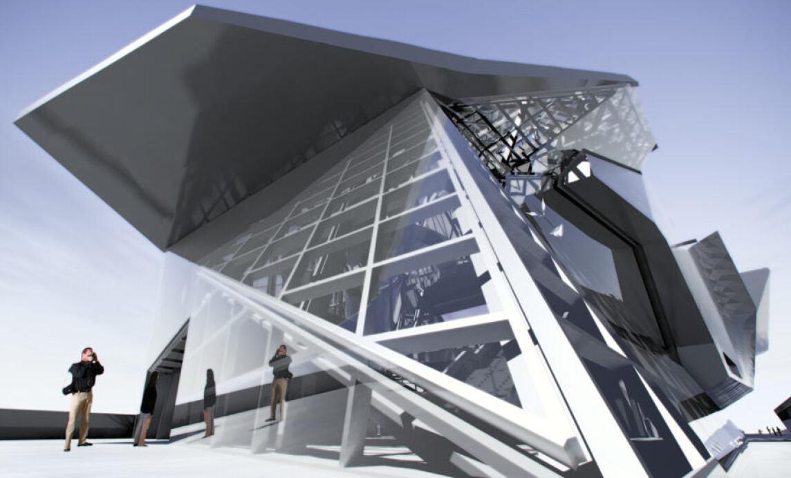Musée des Confluences in Lyon vom Architekturbüro COOP HIMMELB(L)AU