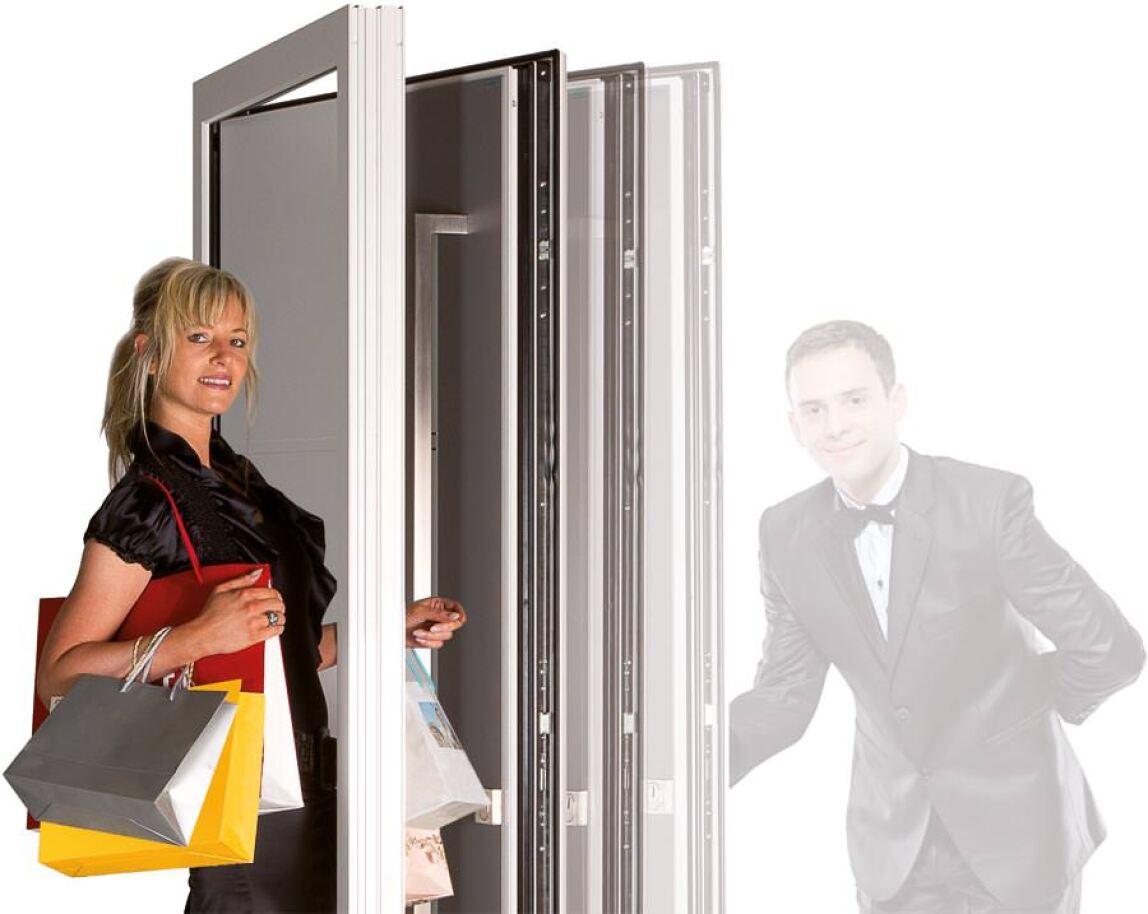 bayerwald haust r mit unsichtbarem automatischen antrieb. Black Bedroom Furniture Sets. Home Design Ideas