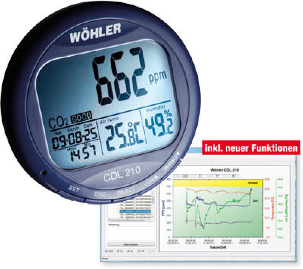 CDL 210 CO₂-Datenlogger