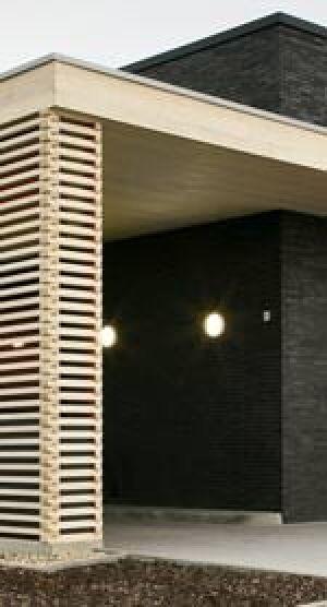 Accoya-Holz-Fassade