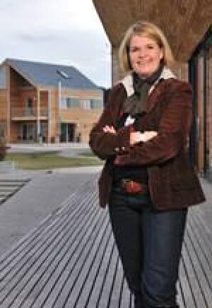 Dagmar Fritz-Kramer, Geschäftsführerin von Bau-Fritz GmbH & Co. KG