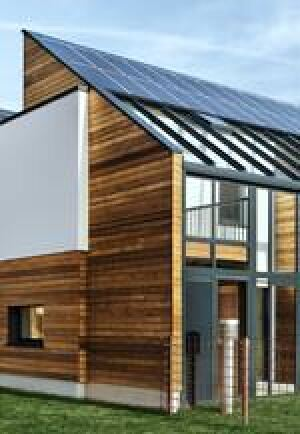 Null-Energie-Neubausiedlung