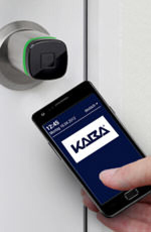 Zutrittskontrolle via Smartphone per Near Field Communication (NFC)