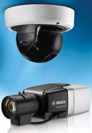 HD-Üerwachungskameras für schwierige Lichtverhältnisse: Dinion HD 720p und FlexiDome HD 720p RD